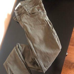 Green Zara Jeans